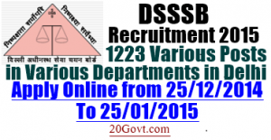 DSSSB-Recruitment-2015-various-1223-posts